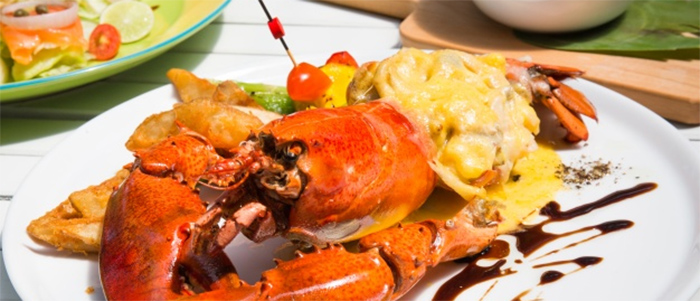 Seafood in Rosarito