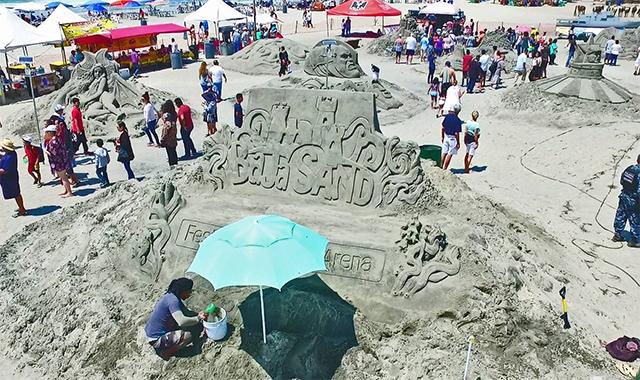 Rosarito sand festival