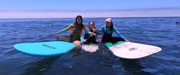 Latina surfers
