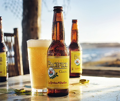 Pacifico Beer and Beach